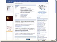 WEF Facebook