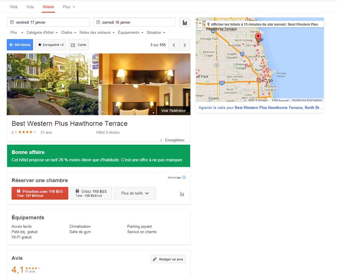 Google Street View Hôtel