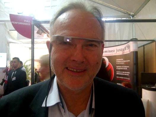 JCMorand teste les Google glass