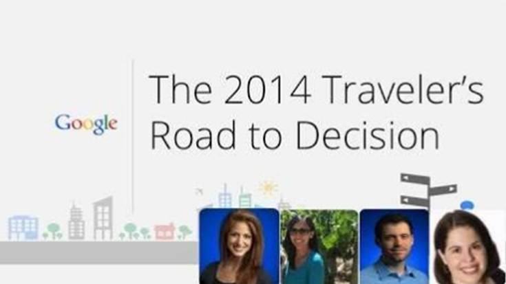 Comportement des touristes et voyageurs d'affaires en 2014 selon Google