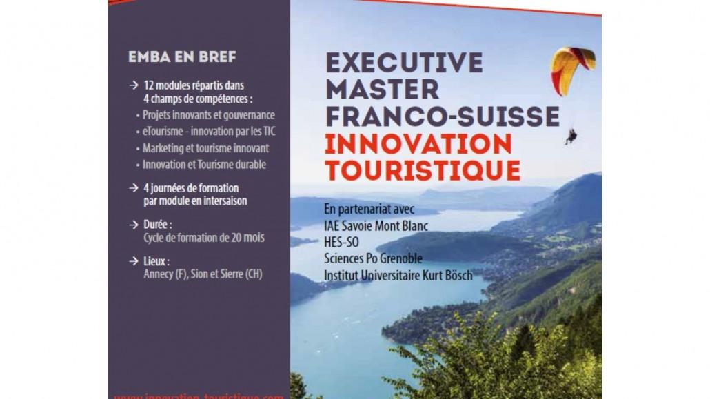 EMBA innovation touristique