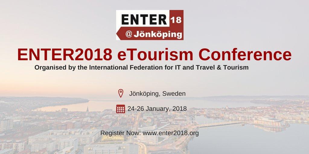 ENTER2018 Jönköping 20e conférence e-Tourisme d'IFITT