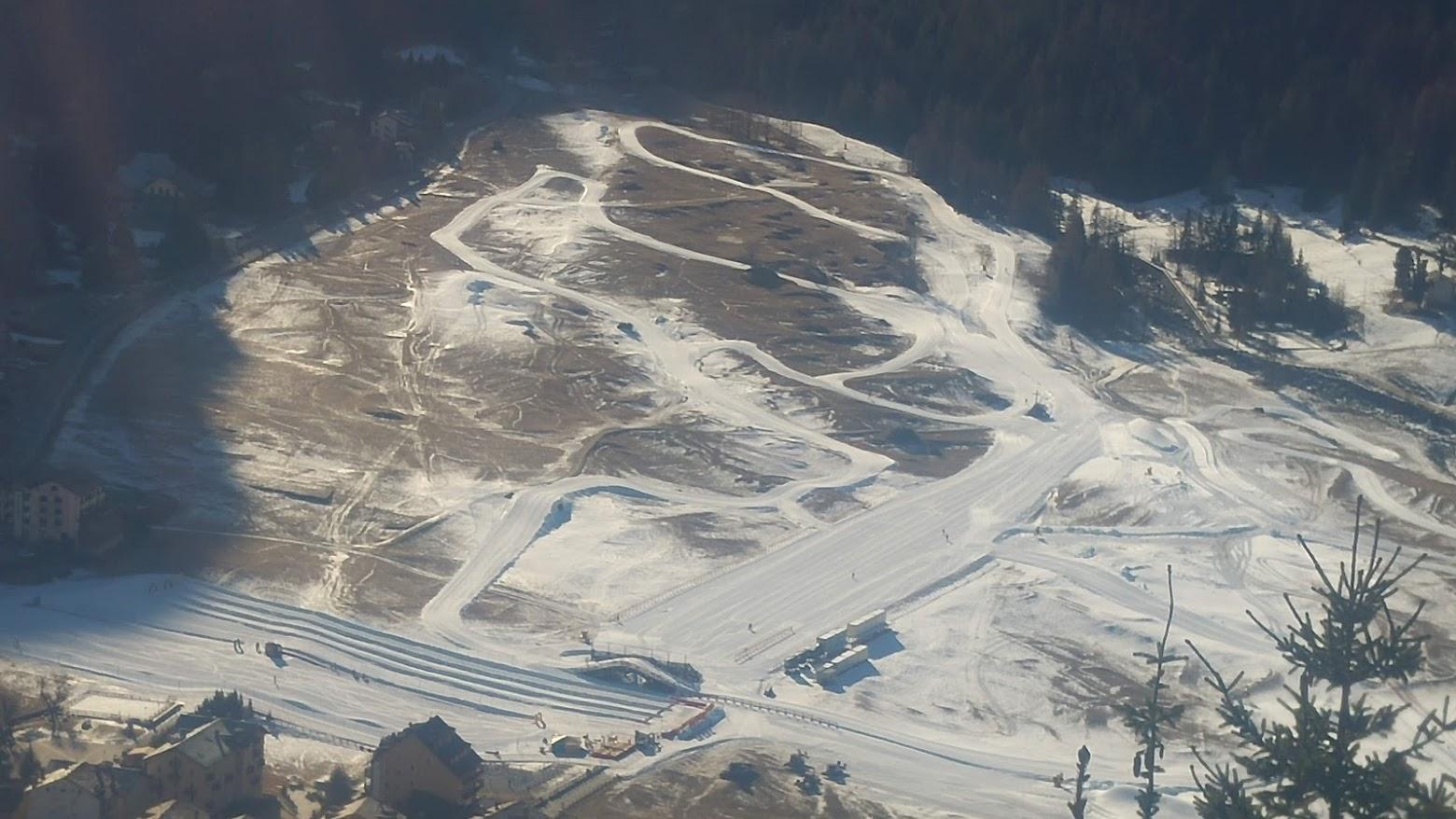 COGNE Pistes de ski de fond à quelques jours des championnats du monde 210119