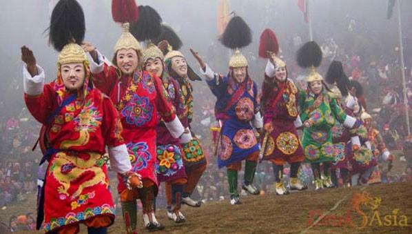 Bhutan Dochula Festival - source : www.drukasia.com/
